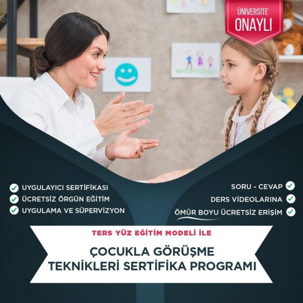 Çocukla Görüşme Teknikleri Eğitimi Sertifika Kursu